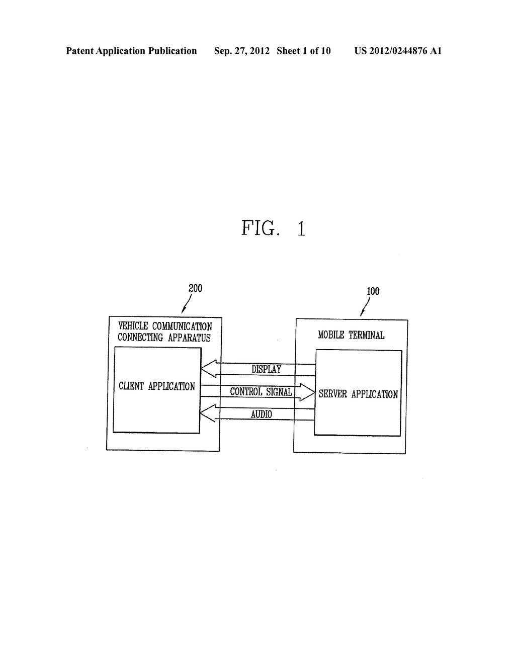COMMUNICATION CONNECTING APPARATUS AND METHOD - diagram, schematic, and image 02