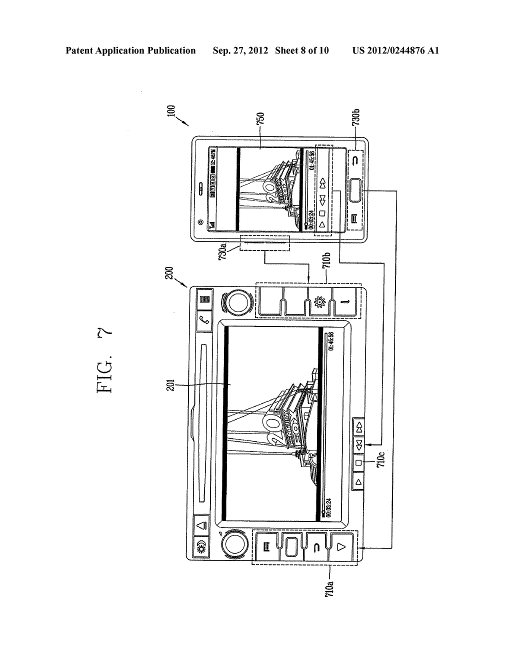 COMMUNICATION CONNECTING APPARATUS AND METHOD - diagram, schematic, and image 09