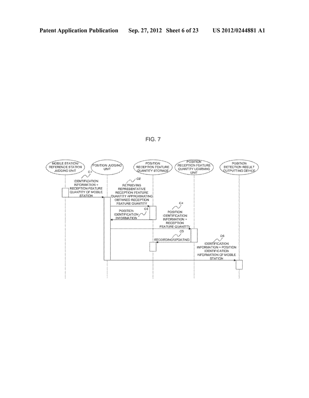POSITION-DETERMINING DEVICE, POSITION-DETERMINING SYSTEM,     POSITION-DETERMINING METHOD AND PROGRAM - diagram, schematic, and image 07