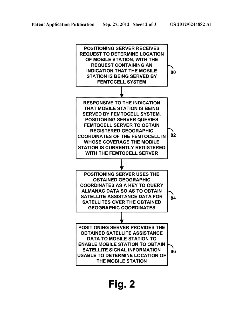 Method and Apparatus for Providing Satellite Assistance Data - diagram, schematic, and image 03