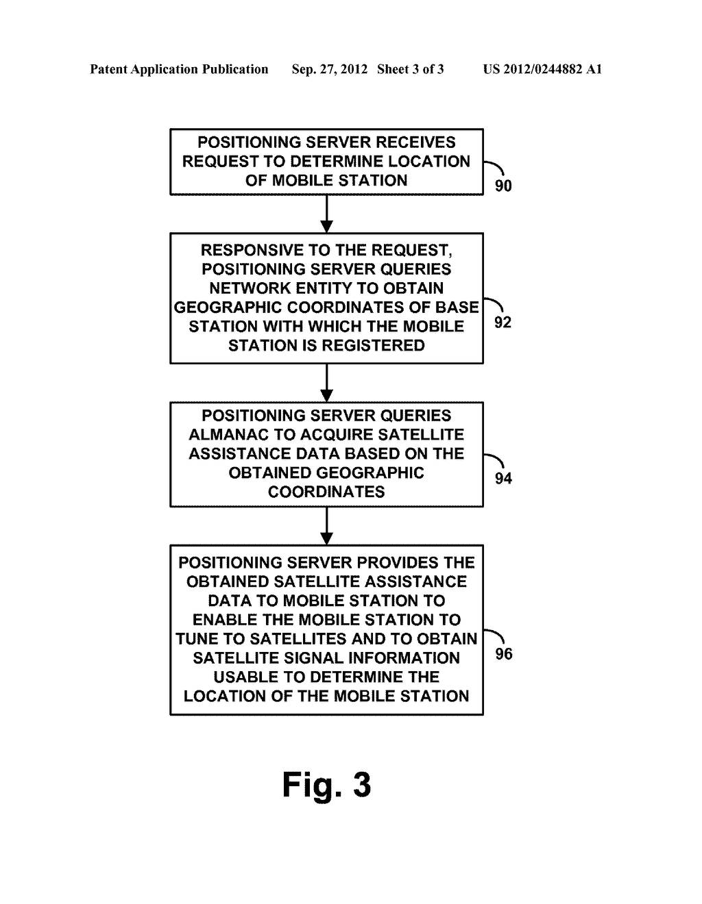 Method and Apparatus for Providing Satellite Assistance Data - diagram, schematic, and image 04