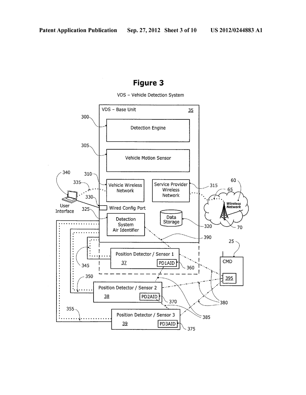 METHOD AND SYSTEM FOR CONTROLLING A MOBILE COMMUNICATION DEVICE IN A     MOVING VEHICLE - diagram, schematic, and image 04
