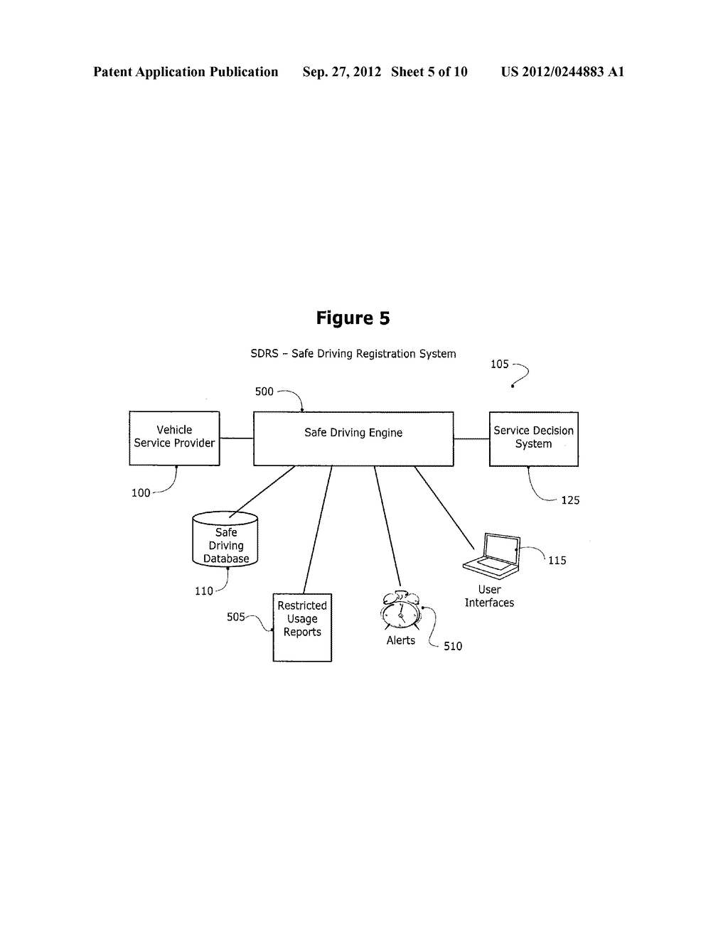 METHOD AND SYSTEM FOR CONTROLLING A MOBILE COMMUNICATION DEVICE IN A     MOVING VEHICLE - diagram, schematic, and image 06