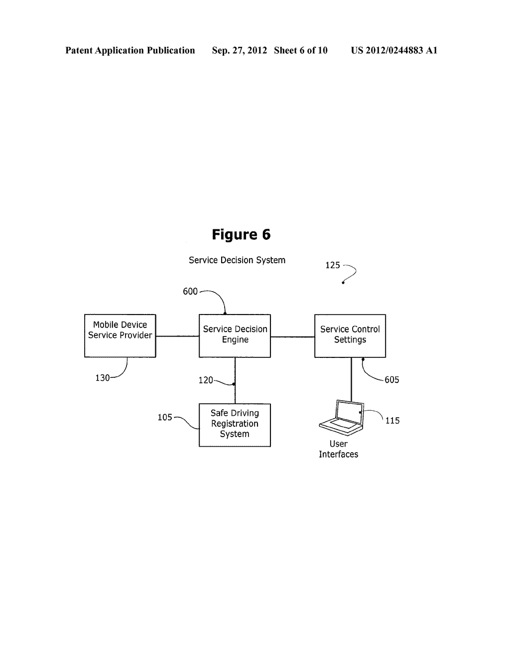 METHOD AND SYSTEM FOR CONTROLLING A MOBILE COMMUNICATION DEVICE IN A     MOVING VEHICLE - diagram, schematic, and image 07
