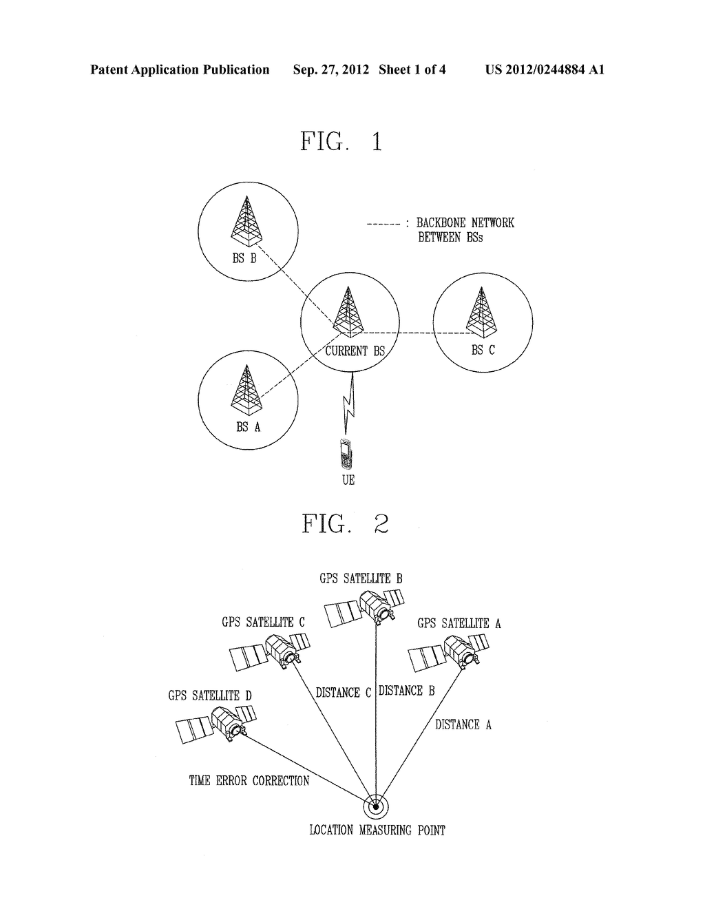METHOD AND APPARATUS OF LOCATION MEASUREMENT USING THE LOCATION OF     NEIGHBOR UE - diagram, schematic, and image 02