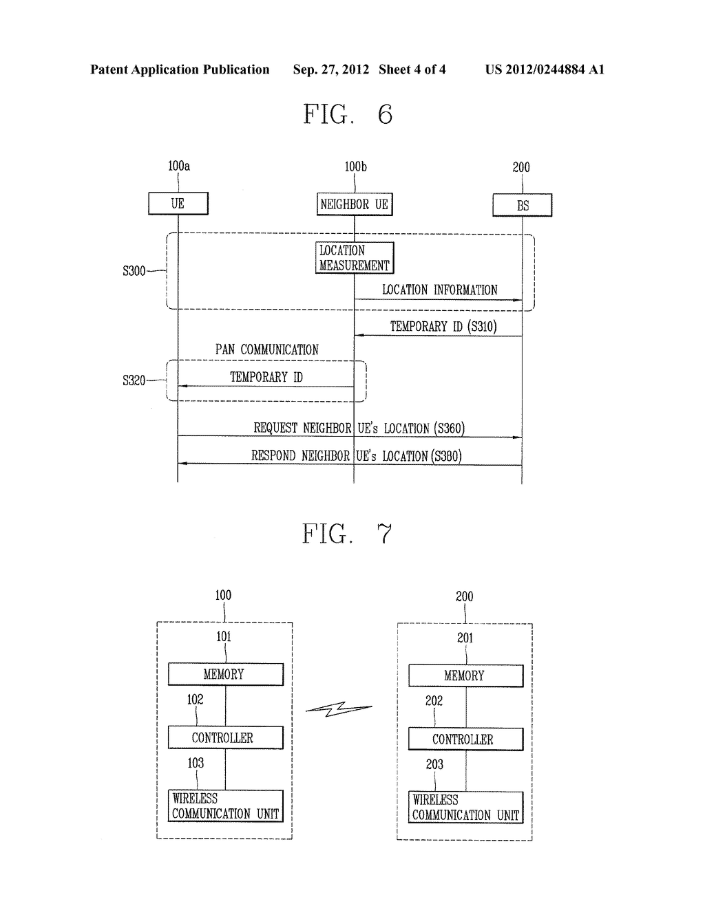 METHOD AND APPARATUS OF LOCATION MEASUREMENT USING THE LOCATION OF     NEIGHBOR UE - diagram, schematic, and image 05