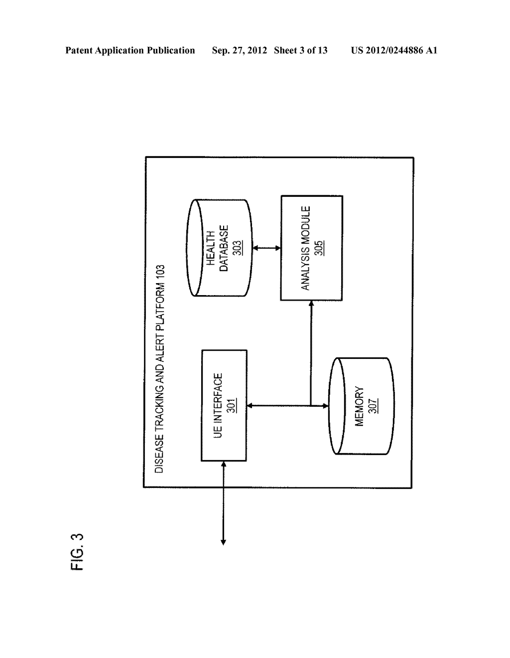 METHOD AND APPARATUS FOR TRACKING AND DISSEMINATING HEALTH INFORMATION VIA     MOBILE CHANNELS - diagram, schematic, and image 04