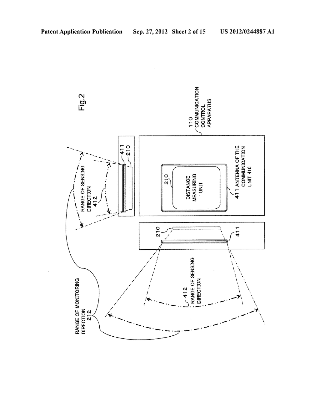COMMUNICATION CONTROL APPARATUS, COMMUNICATION CONTROL METHOD AND PROGRAM - diagram, schematic, and image 03