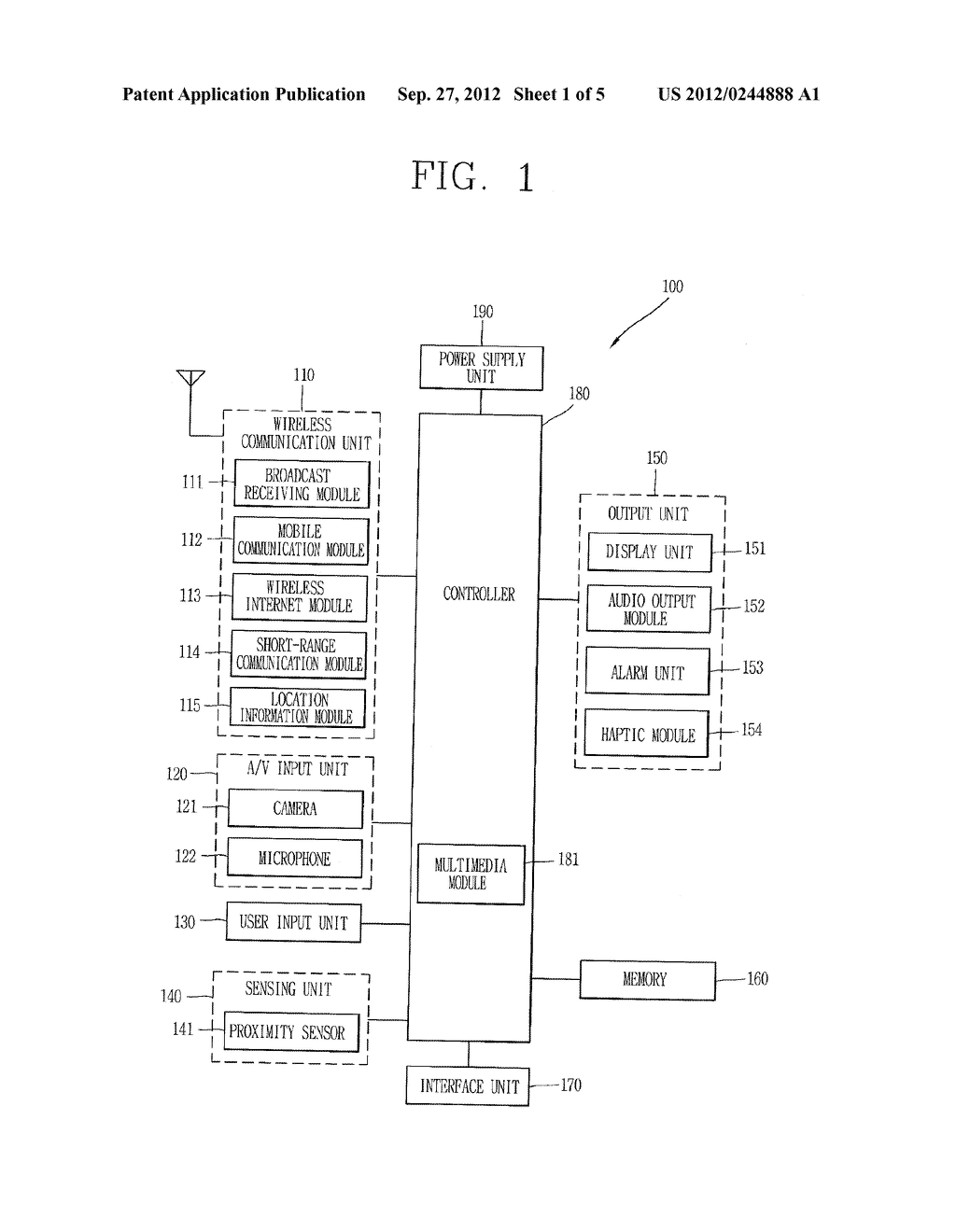 TERMINAL AND METHOD FOR PROVIDING ZONE-BASED SERVICE OUTSIDE OF SERVICE     ZONE - diagram, schematic, and image 02
