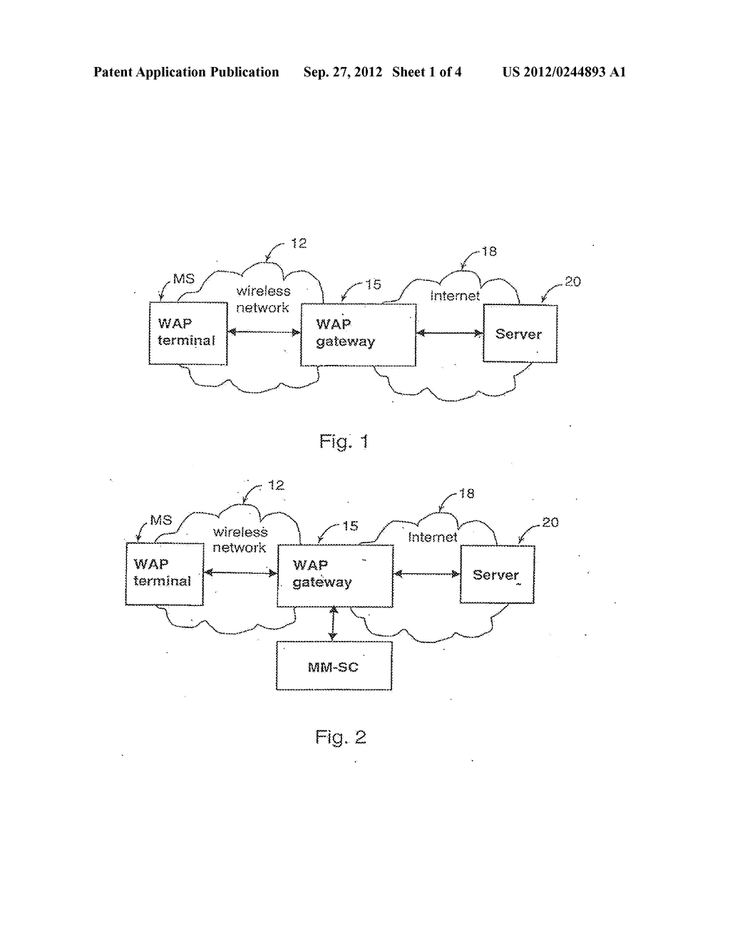 FILTERING OF ELECTRONIC INFORMATION TO BE TRANSFERRED TO A TERMINAL - diagram, schematic, and image 02