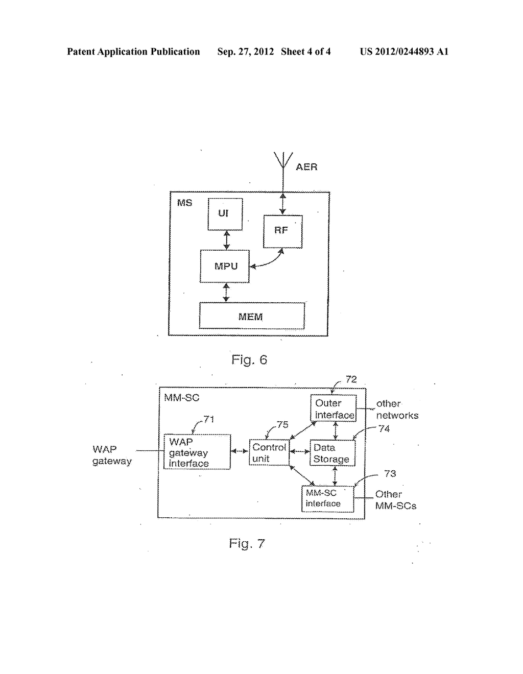 FILTERING OF ELECTRONIC INFORMATION TO BE TRANSFERRED TO A TERMINAL - diagram, schematic, and image 05