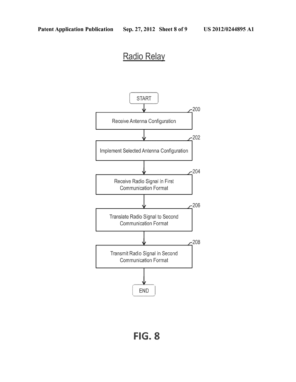 SYSTEM AND METHOD FOR RADIO COMMUNICATION - diagram, schematic, and image 09