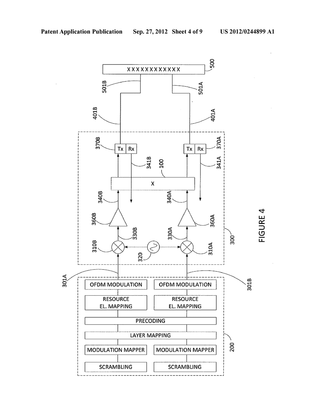 METHOD AND APPARATUS FOR ANTENNA RADIATION CROSS POLAR SUPPRESSION - diagram, schematic, and image 05