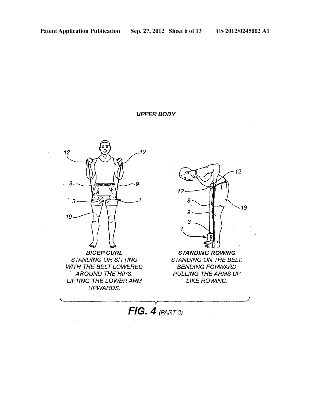 EXERCISE DEVICE AND METHOD OF EXERCISING - diagram, schematic, and image 07