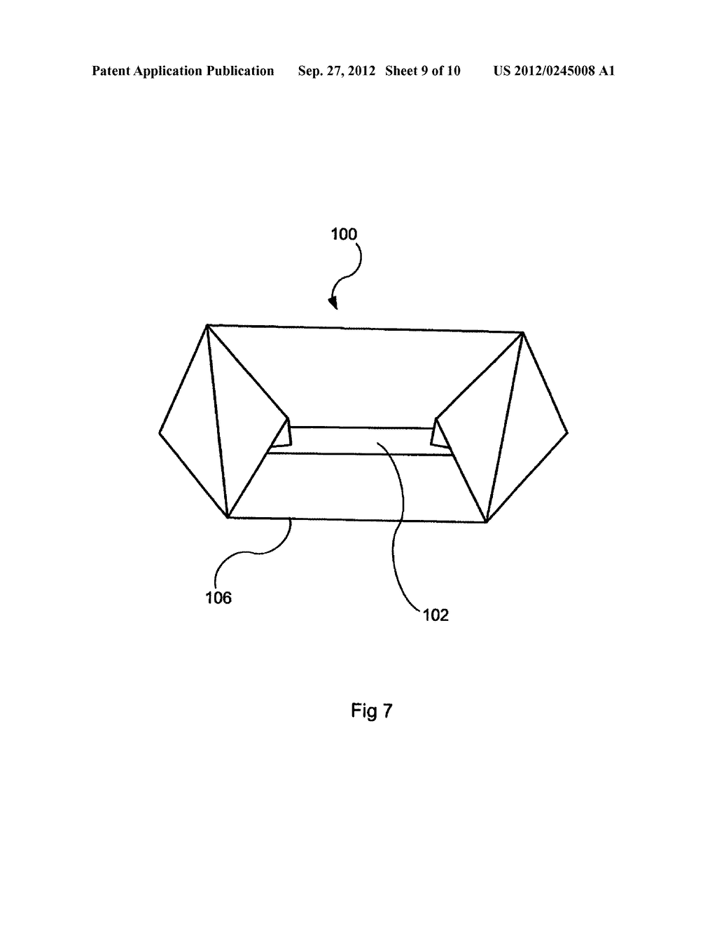 DEVICE AND A METHOD FOR IMPROVED FOLDING OF A CONTAINER - diagram, schematic, and image 10