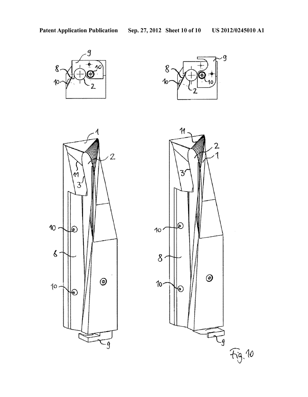 FORMING SHOULDER AND DEVICE FOR PRODUCING TUBULAR BAGS - diagram, schematic, and image 11