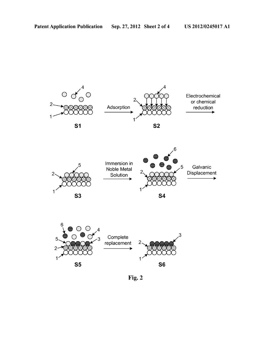 Method and Electrochemical Cell for Synthesis and Treatment of Metal     Monolayer Electrocatalysts Metal, Carbon, and Oxide Nanoparticles Ion     Batch, or in Continuous Fashion - diagram, schematic, and image 03