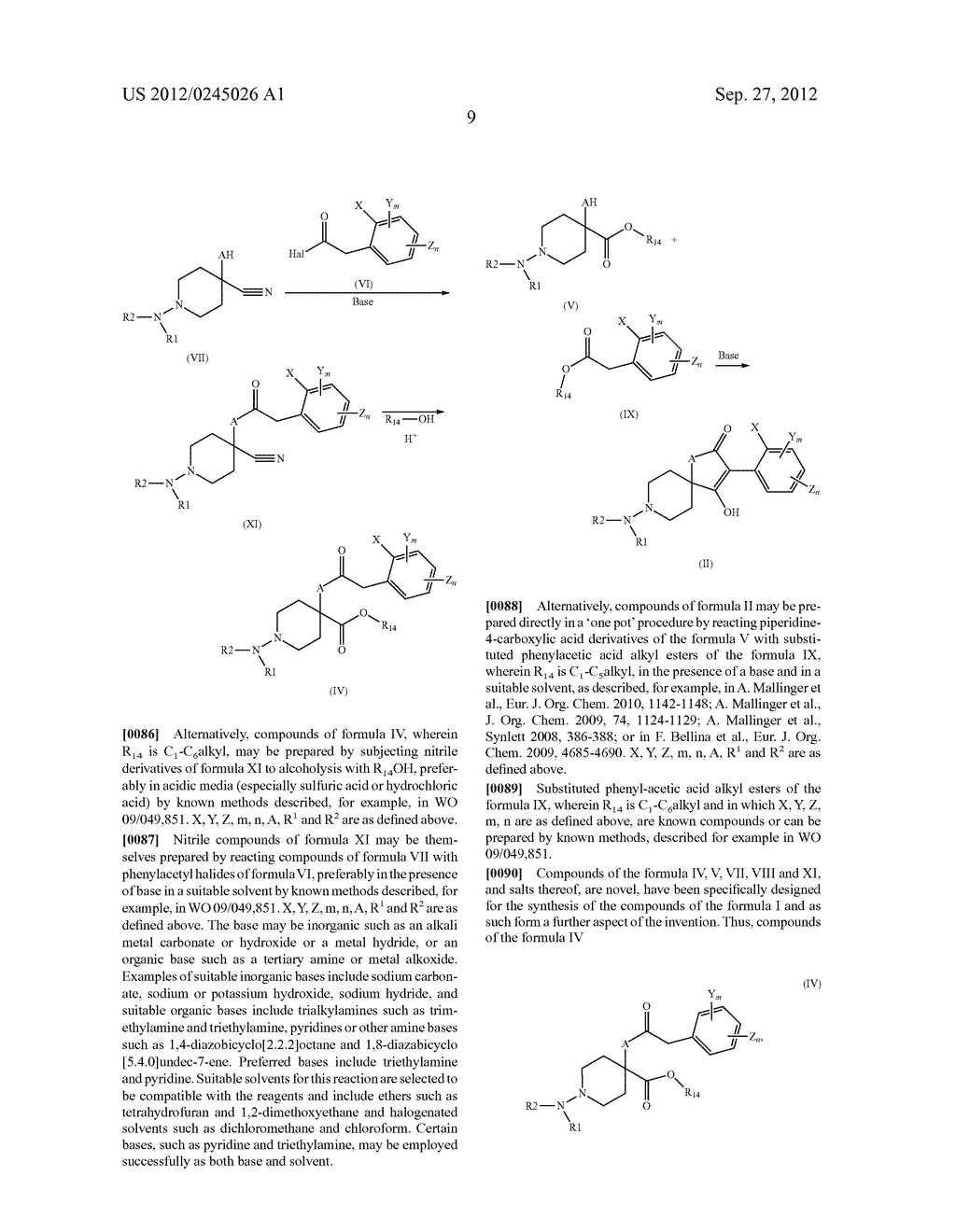 SPIRO FUSED 1-AMINO - PIPERDINE PYRROLIDINE DIONE DERIVATIVES WITH     PESTICIDAL ACTIVITY - diagram, schematic, and image 10