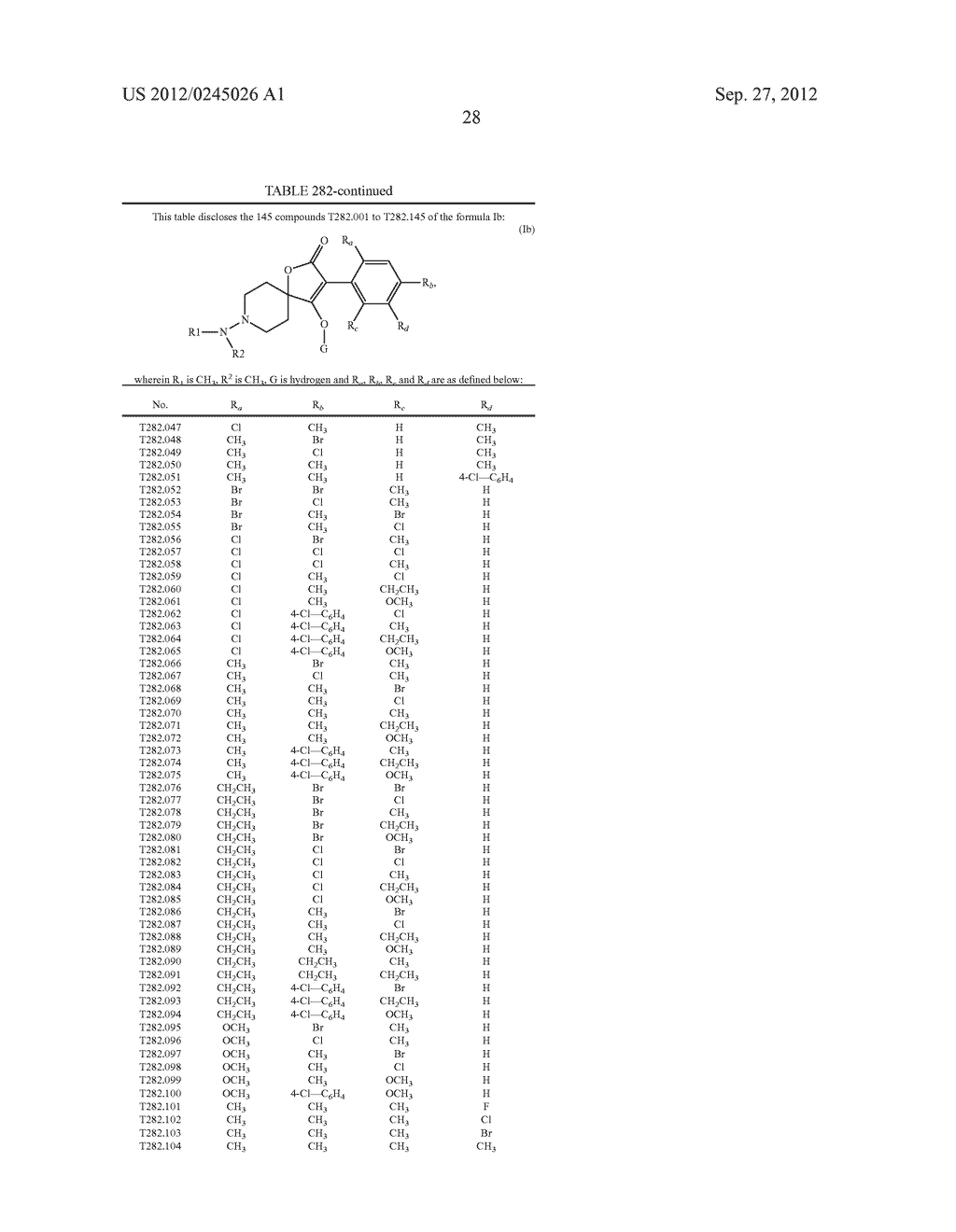 SPIRO FUSED 1-AMINO - PIPERDINE PYRROLIDINE DIONE DERIVATIVES WITH     PESTICIDAL ACTIVITY - diagram, schematic, and image 29