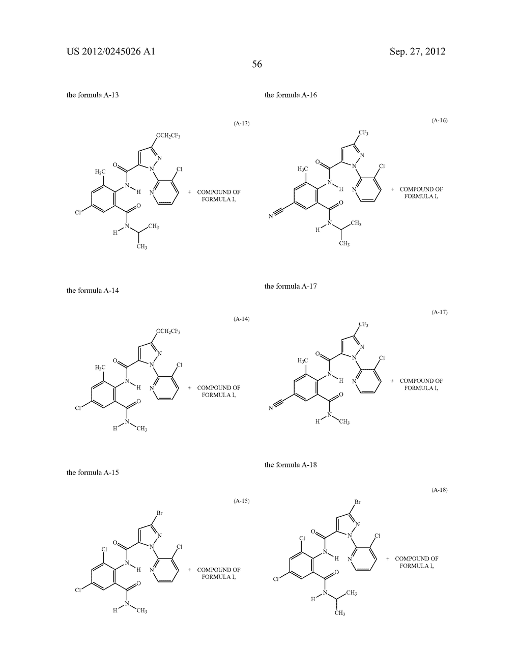 SPIRO FUSED 1-AMINO - PIPERDINE PYRROLIDINE DIONE DERIVATIVES WITH     PESTICIDAL ACTIVITY - diagram, schematic, and image 57