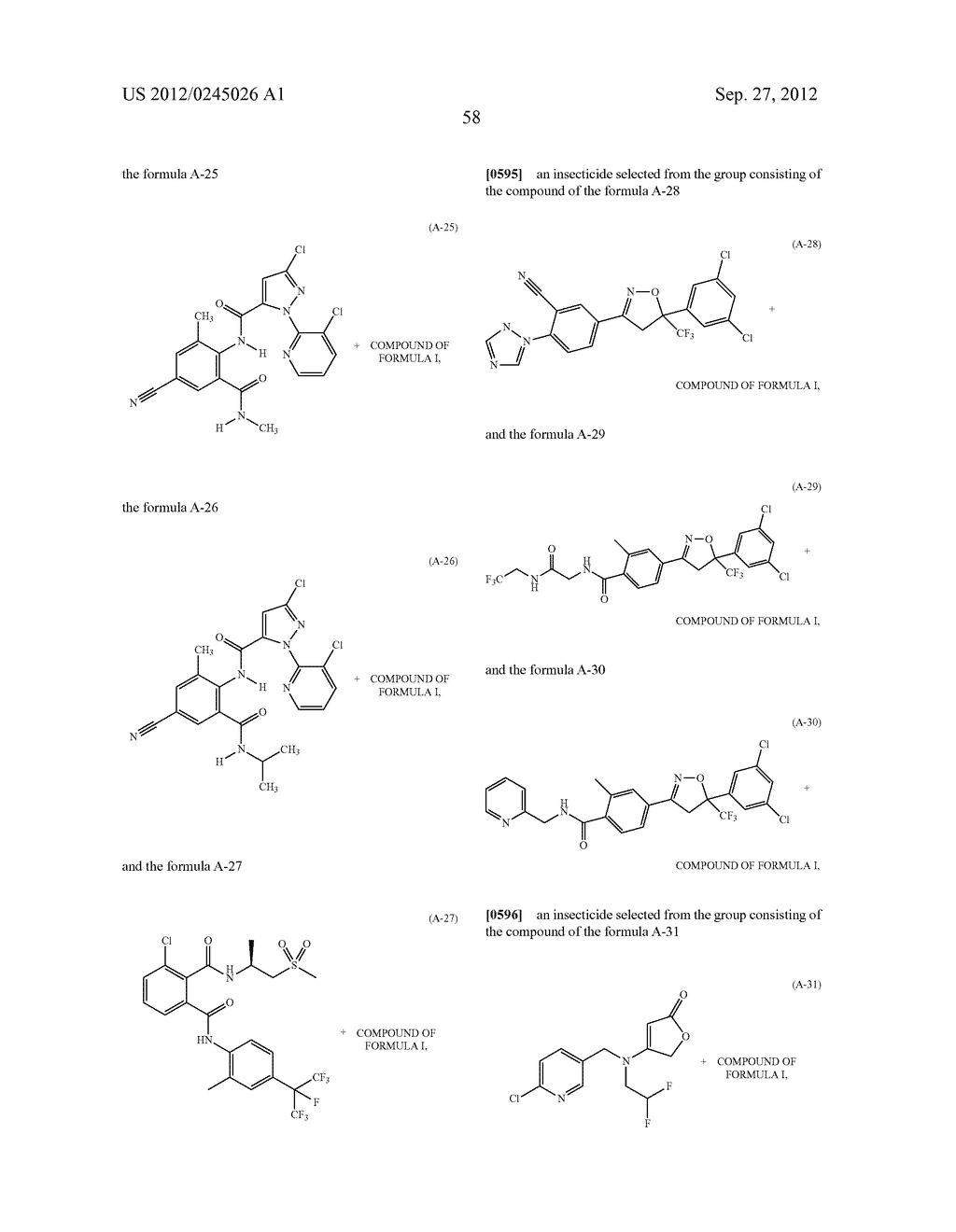 SPIRO FUSED 1-AMINO - PIPERDINE PYRROLIDINE DIONE DERIVATIVES WITH     PESTICIDAL ACTIVITY - diagram, schematic, and image 59