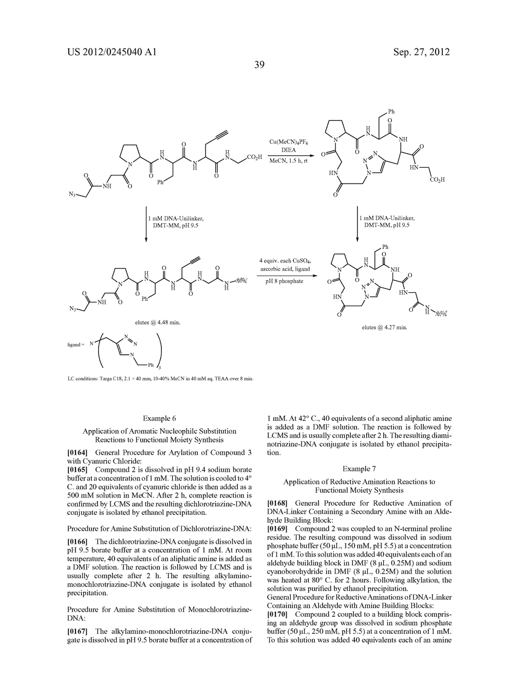METHODS FOR SYNTHESIS OF ENCODED LIBRARIES - diagram, schematic, and image 53