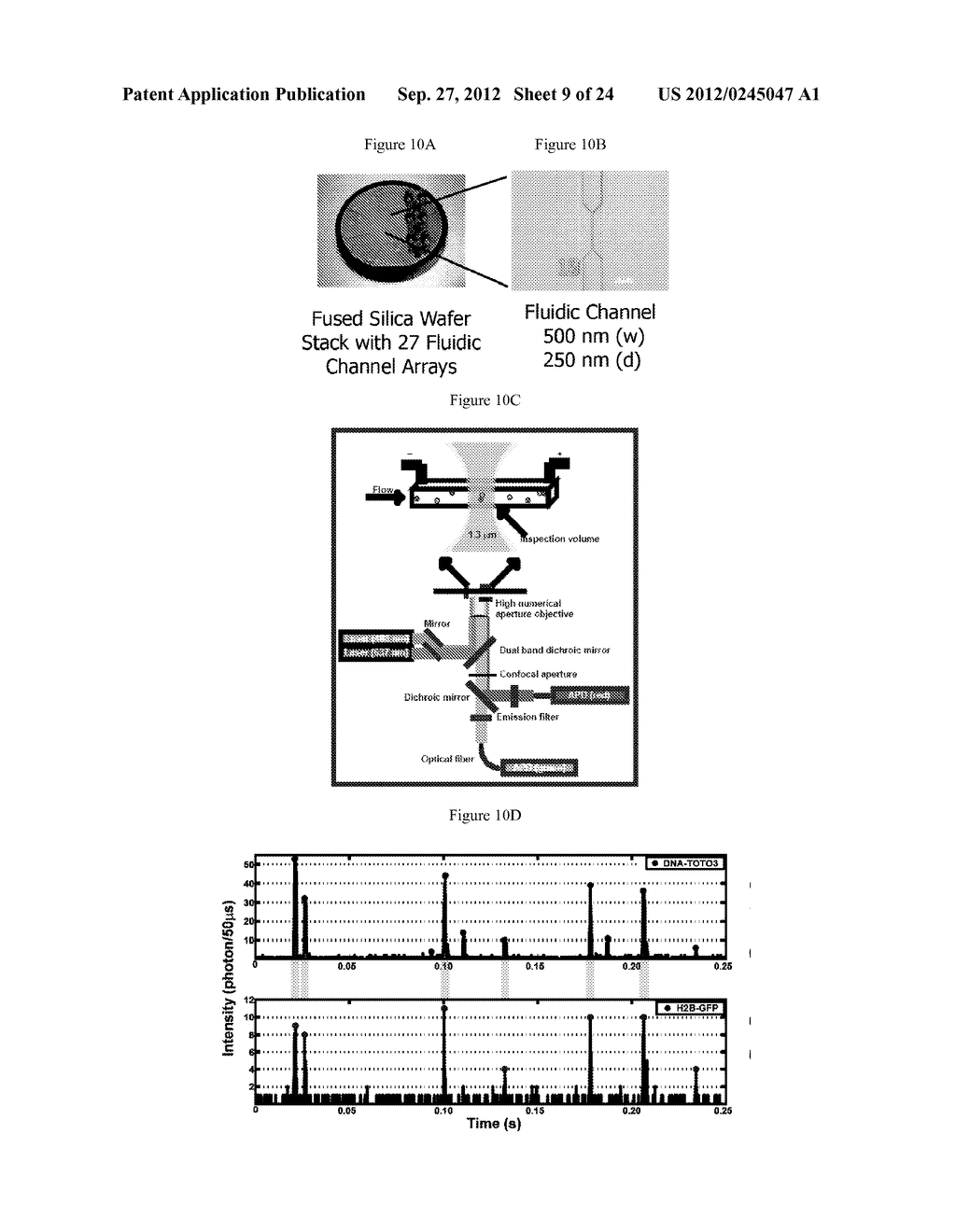 DEVICE AND METHODS FOR MOLECULAR ANALYSIS - diagram, schematic, and image 10
