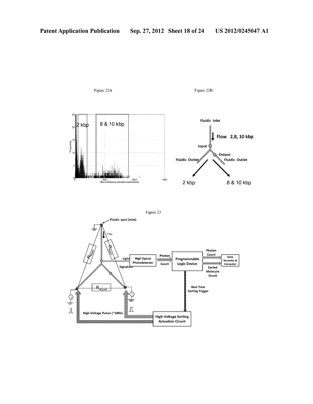 DEVICE AND METHODS FOR MOLECULAR ANALYSIS - diagram, schematic, and image 19