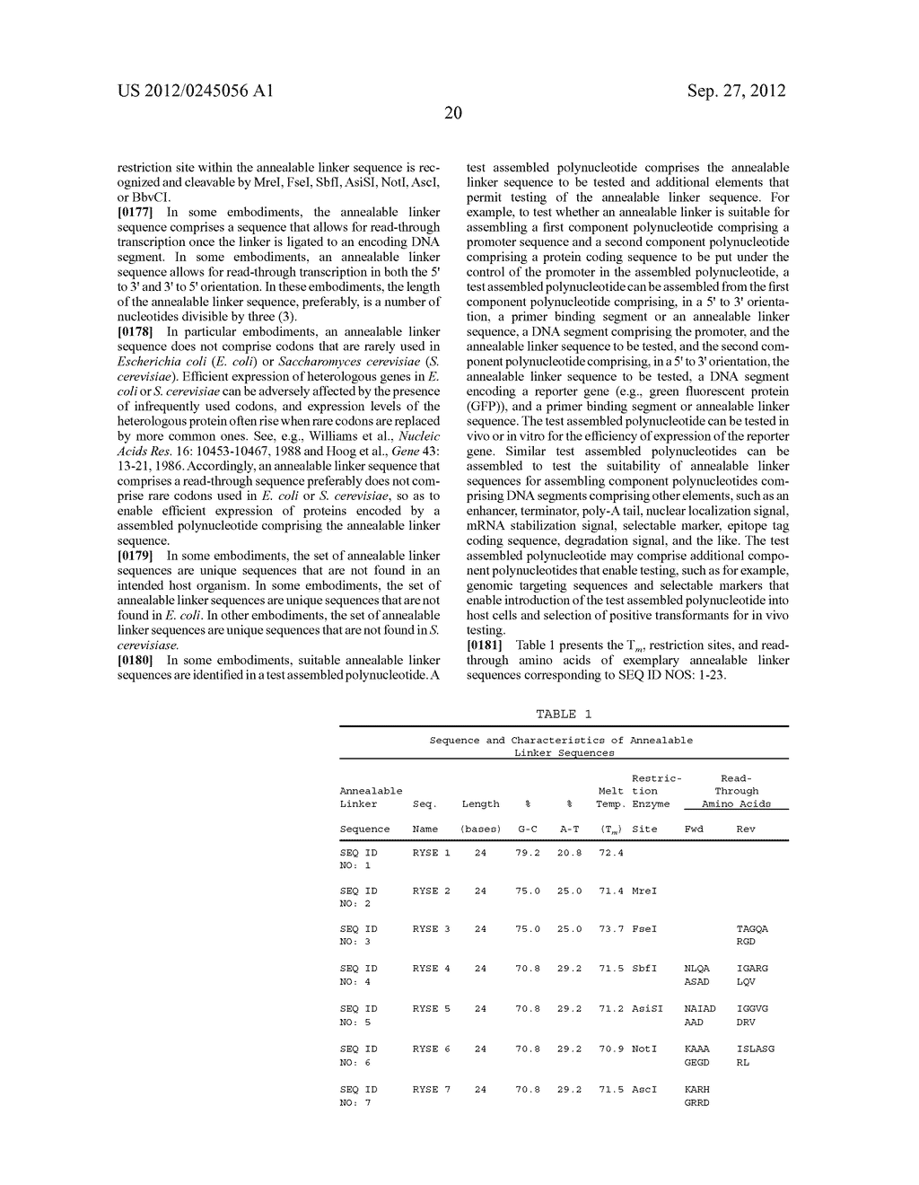 COMPOSITIONS AND METHODS FOR THE SAME ASSEMBLY OF POLYNUCLEOTIDES - diagram, schematic, and image 38