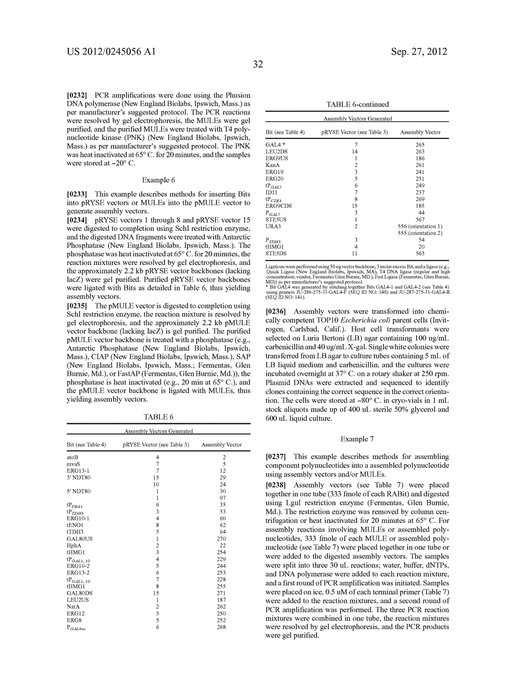 COMPOSITIONS AND METHODS FOR THE SAME ASSEMBLY OF POLYNUCLEOTIDES - diagram, schematic, and image 50