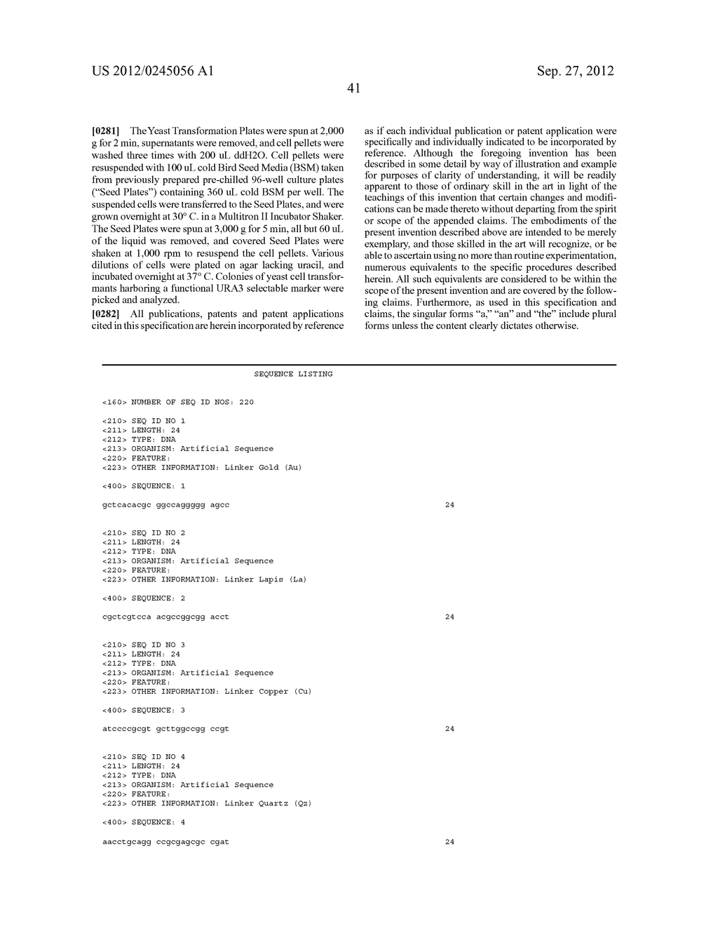 COMPOSITIONS AND METHODS FOR THE SAME ASSEMBLY OF POLYNUCLEOTIDES - diagram, schematic, and image 59