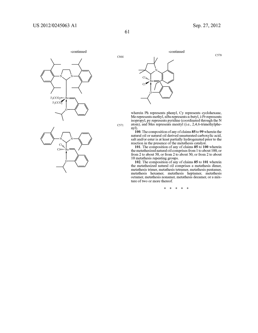 FUNCTIONALIZED MONOMERS AND POLYMERS - diagram, schematic, and image 64