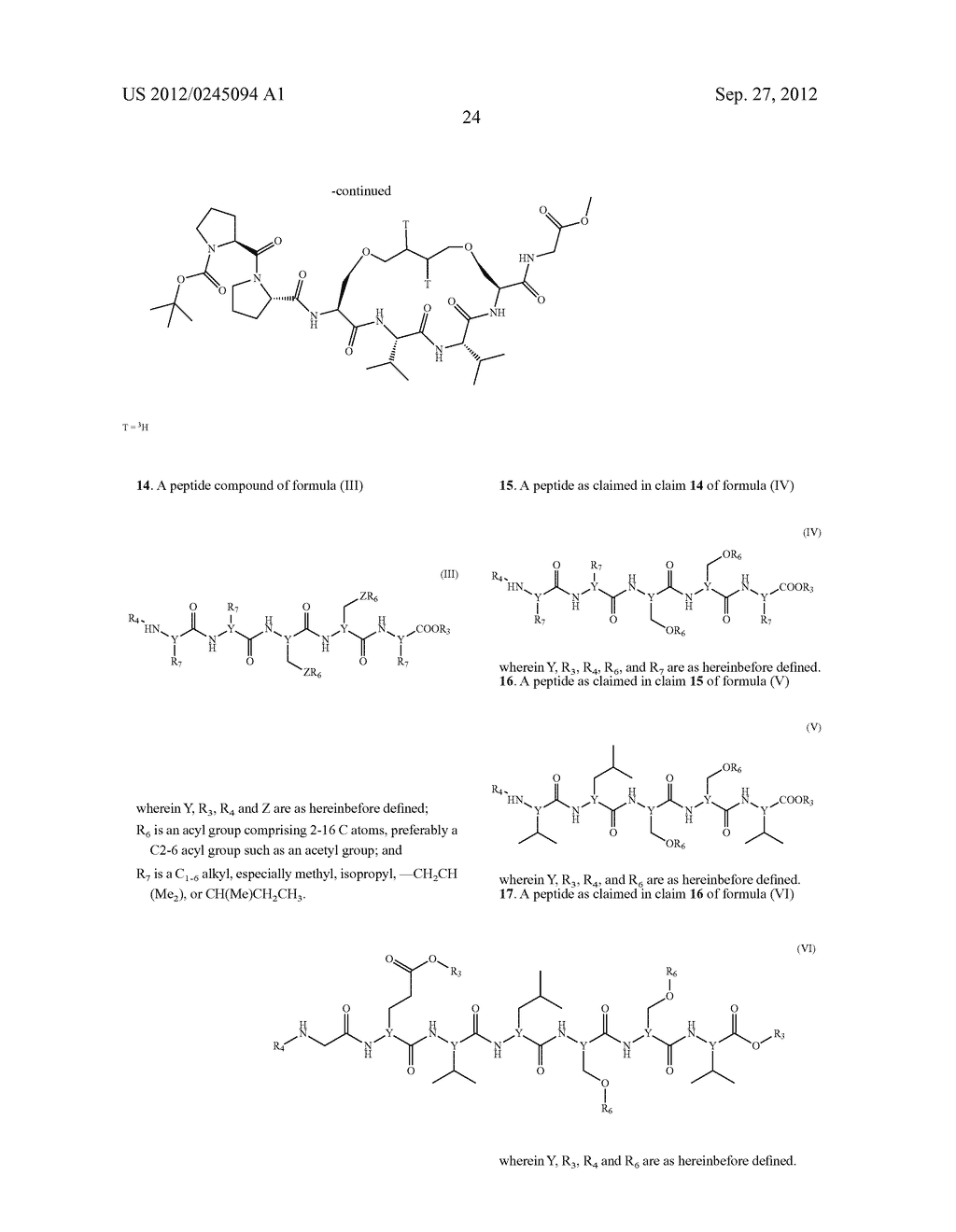 COMPOUNDS, COMPOSITIONS AND USE - diagram, schematic, and image 26