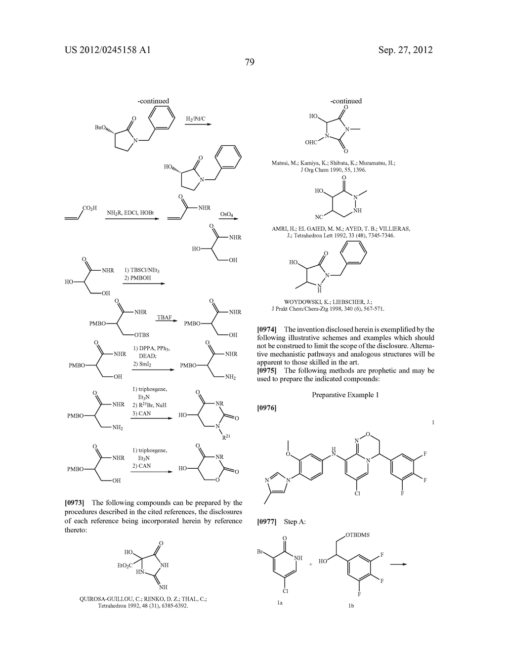 GAMMA SECRETASE MODULATORS - diagram, schematic, and image 80