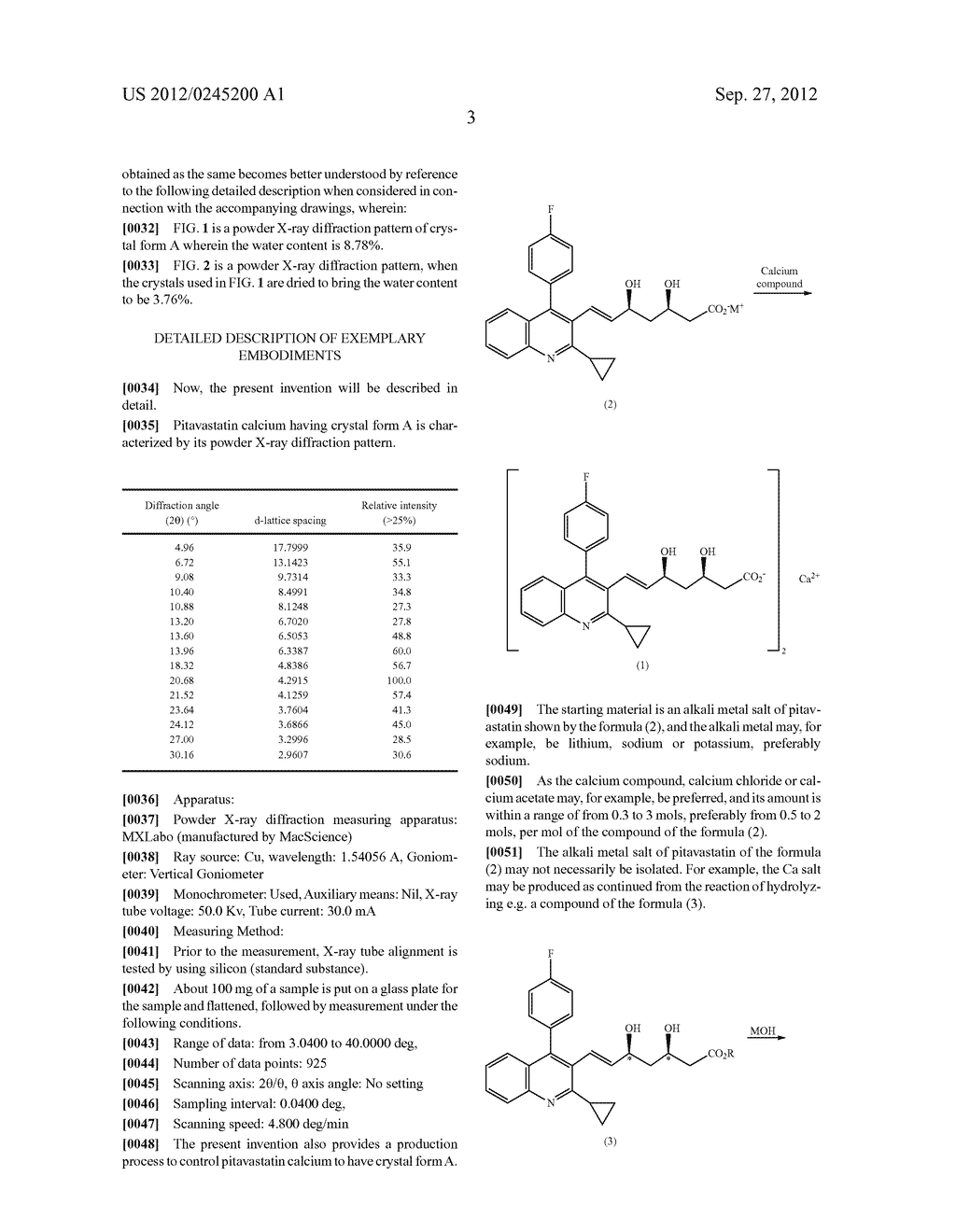 CRYSTAL FORM OF QUINOLINE COMPOUND AND PROCESS FOR ITS PRODUCTION - diagram, schematic, and image 05