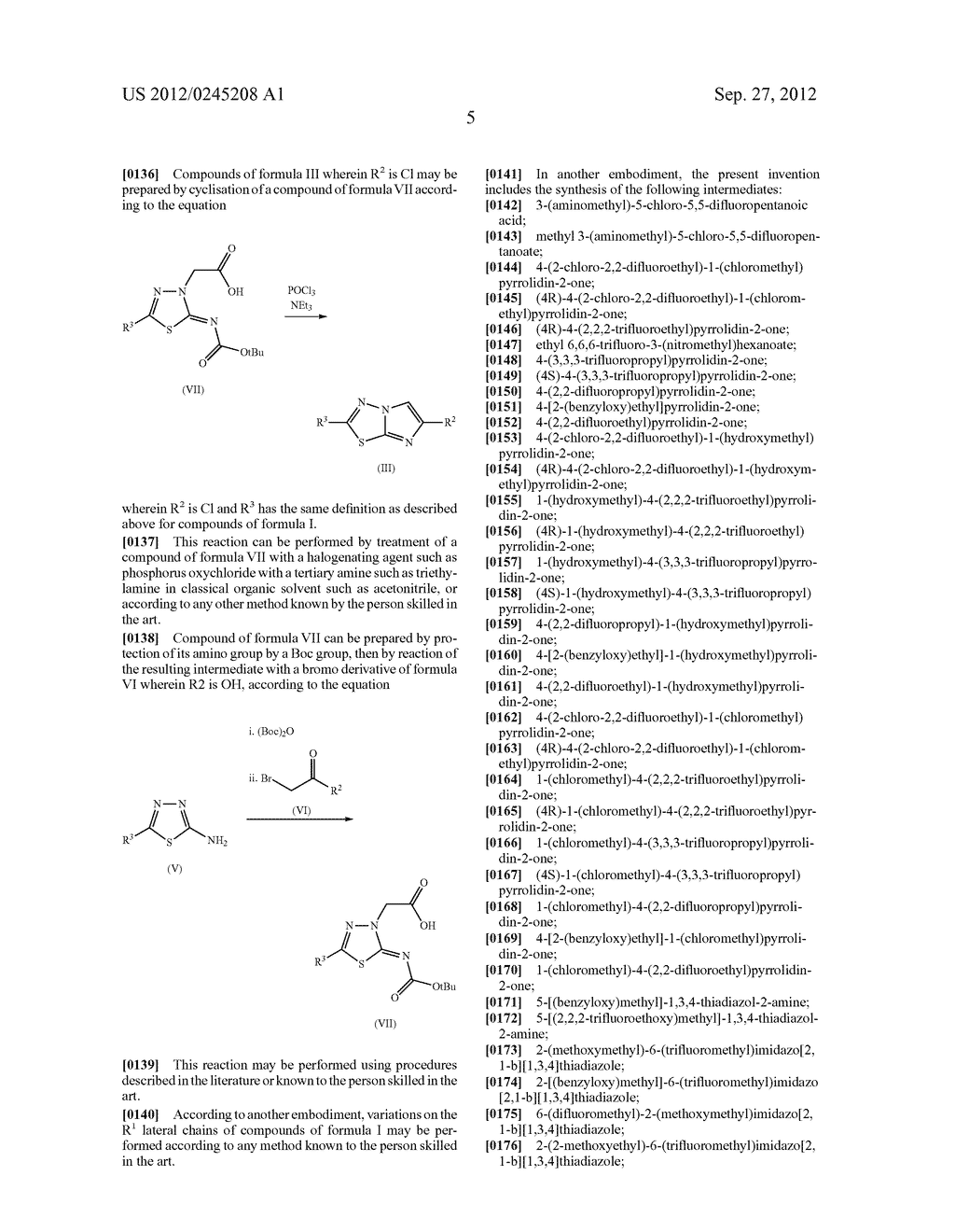 2-Oxo-1-Pyrrolidinyl Imidazothiadiazole Derivatives - diagram, schematic, and image 06