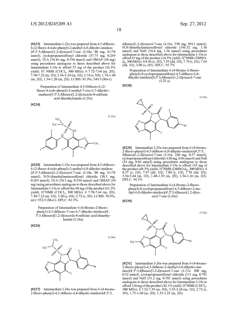 HETEROCYCLIC SULFONAMIDE DERIVATIVES - diagram, schematic, and image 19