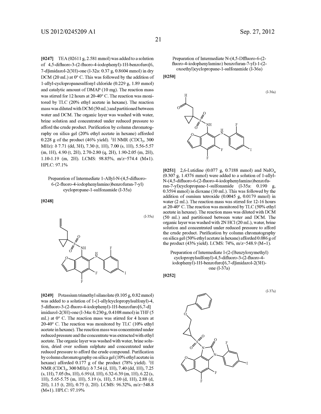 HETEROCYCLIC SULFONAMIDE DERIVATIVES - diagram, schematic, and image 22