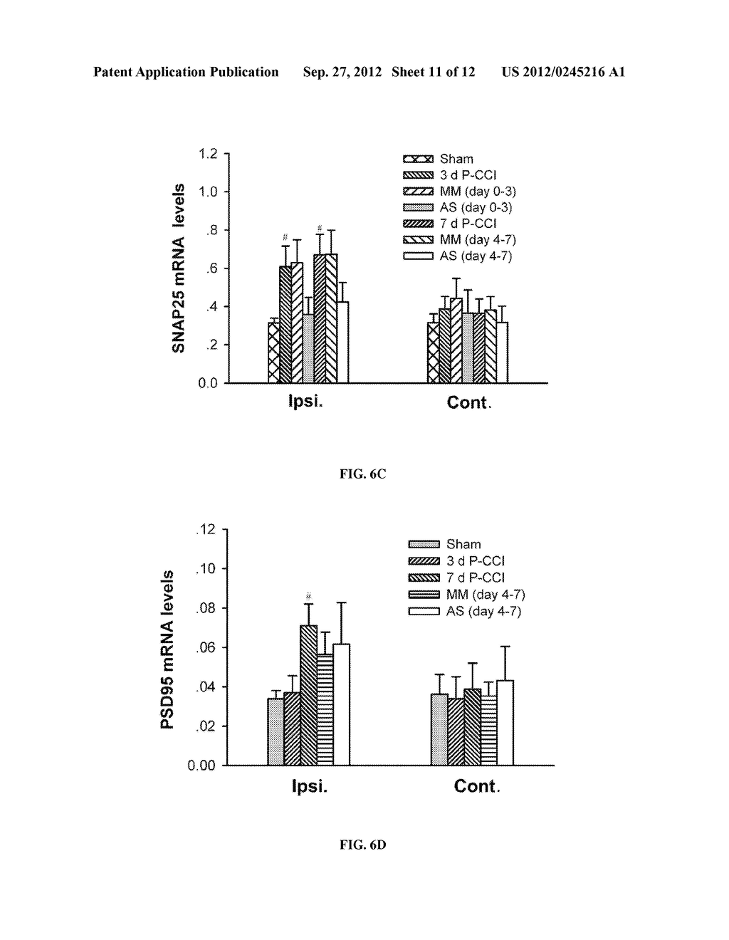 COMPOSITIONS AND METHODS FOR TREATMENT OF NEUROPATHIC PAIN - diagram, schematic, and image 12