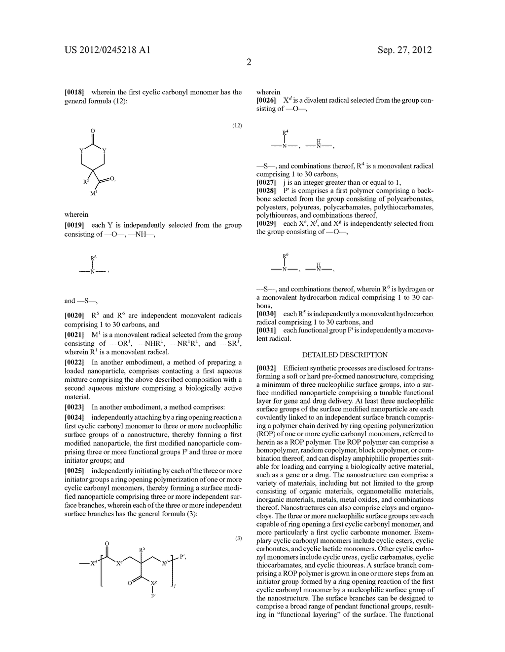 SURFACE MODIFIED NANOPARTICLES, METHODS OF THEIR PREPARATION, AND USES     THEREOF FOR GENE AND DRUG DELIVERY - diagram, schematic, and image 03
