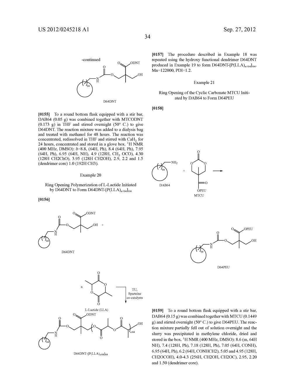 SURFACE MODIFIED NANOPARTICLES, METHODS OF THEIR PREPARATION, AND USES     THEREOF FOR GENE AND DRUG DELIVERY - diagram, schematic, and image 35