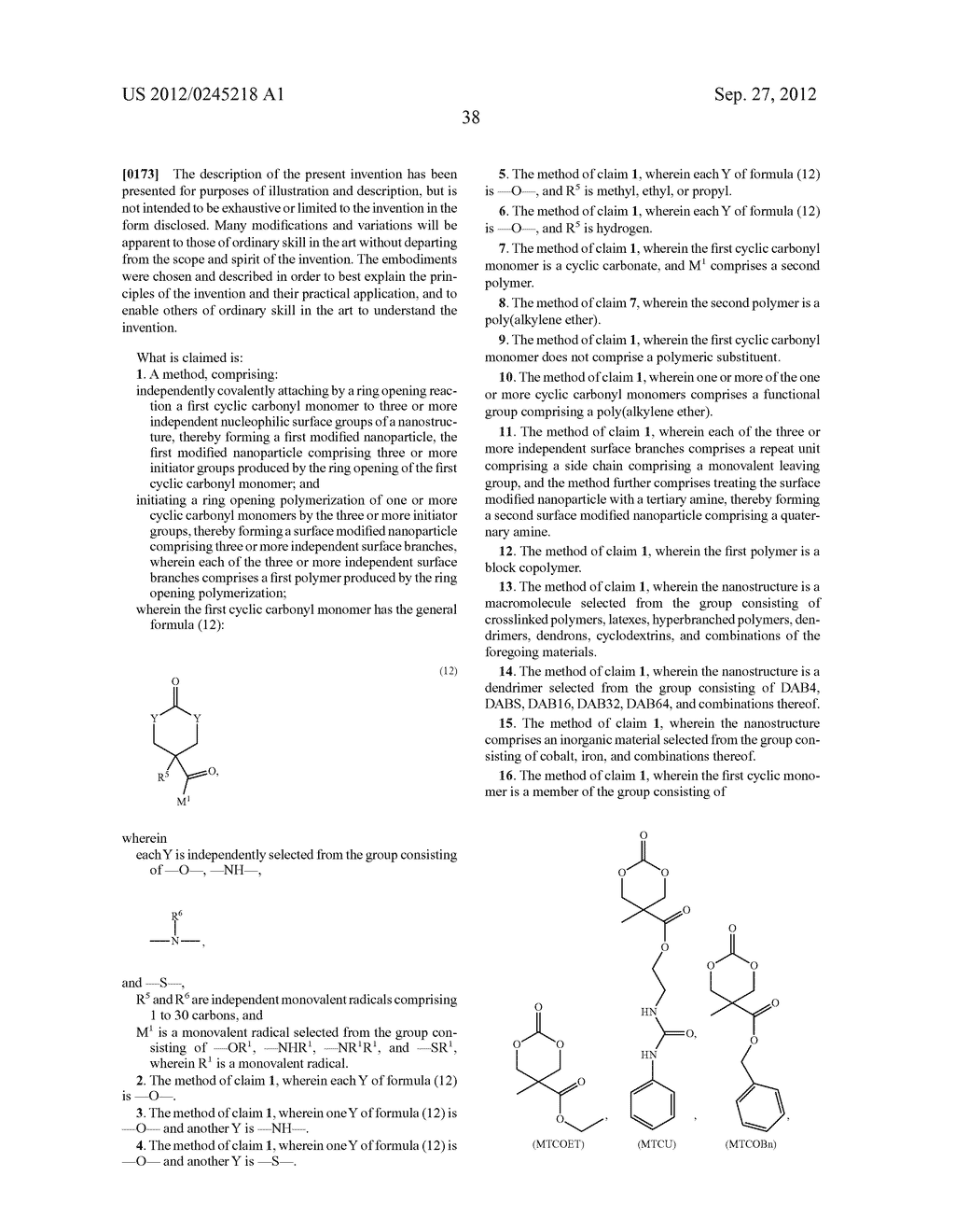 SURFACE MODIFIED NANOPARTICLES, METHODS OF THEIR PREPARATION, AND USES     THEREOF FOR GENE AND DRUG DELIVERY - diagram, schematic, and image 39
