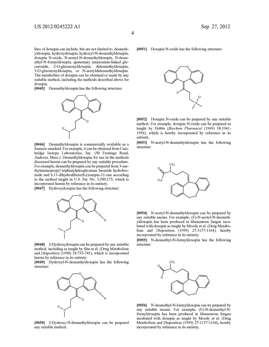 METHODS OF USING LOW-DOSE DOXEPIN FOR THE IMPROVEMENT OF SLEEP - diagram, schematic, and image 13