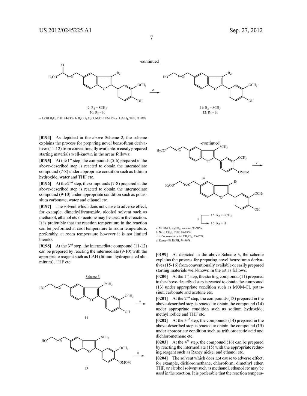NOVEL BENZOFURAN TYPE DERIVATIVES, A COMPOSITION COMPRISING THE SAME FOR     TREATING OR PREVENTING COGNITIVE DYSFUNCTION AND THE USE THEREOF - diagram, schematic, and image 23