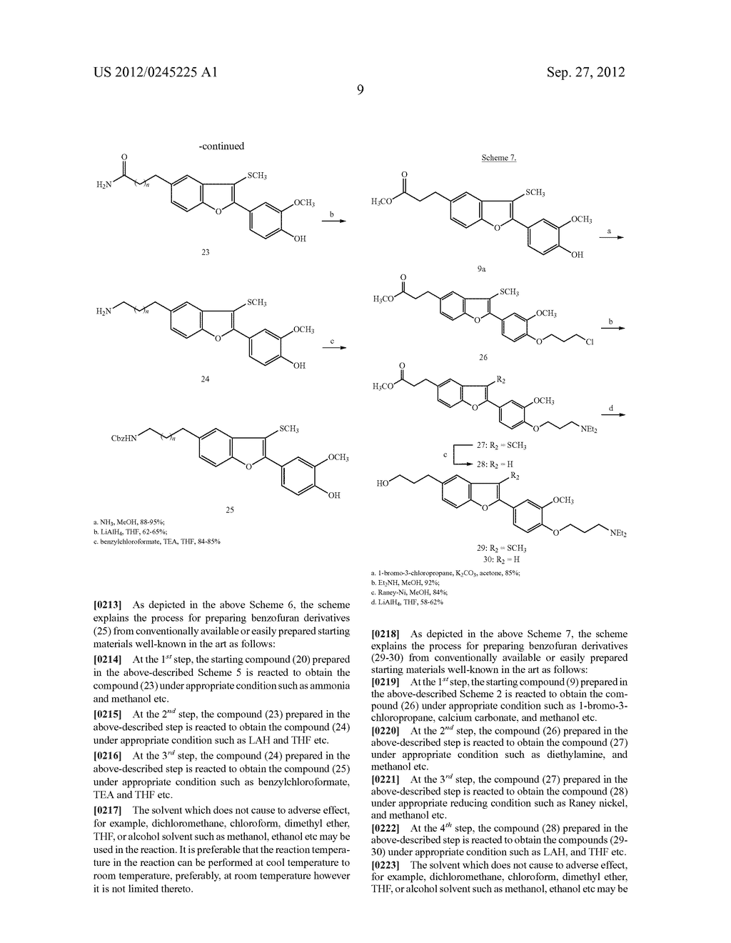 NOVEL BENZOFURAN TYPE DERIVATIVES, A COMPOSITION COMPRISING THE SAME FOR     TREATING OR PREVENTING COGNITIVE DYSFUNCTION AND THE USE THEREOF - diagram, schematic, and image 25