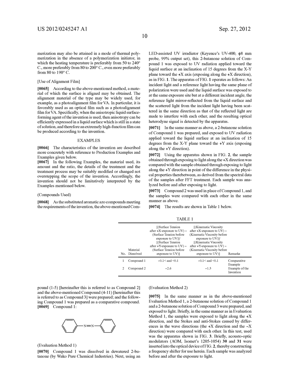 ANISOTROPIC LIQUID SURFACE FORMING AGENT AND ANISOTROPIC LIQUID SURFACE     FORMING METHOD - diagram, schematic, and image 13