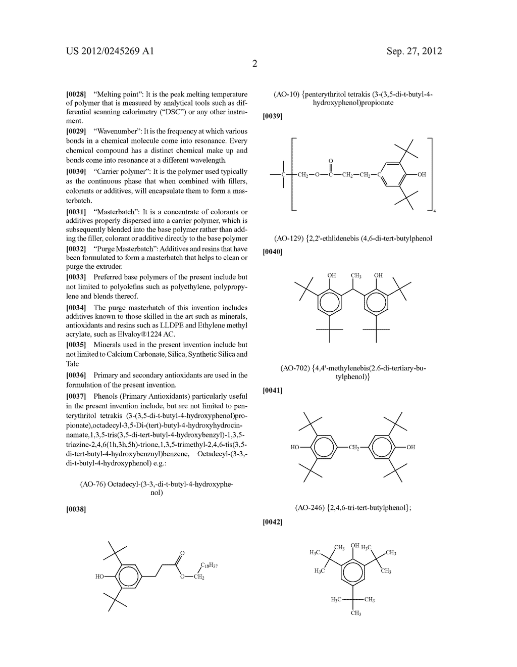 Compound for purging residual polyamides from an extruder - diagram, schematic, and image 03