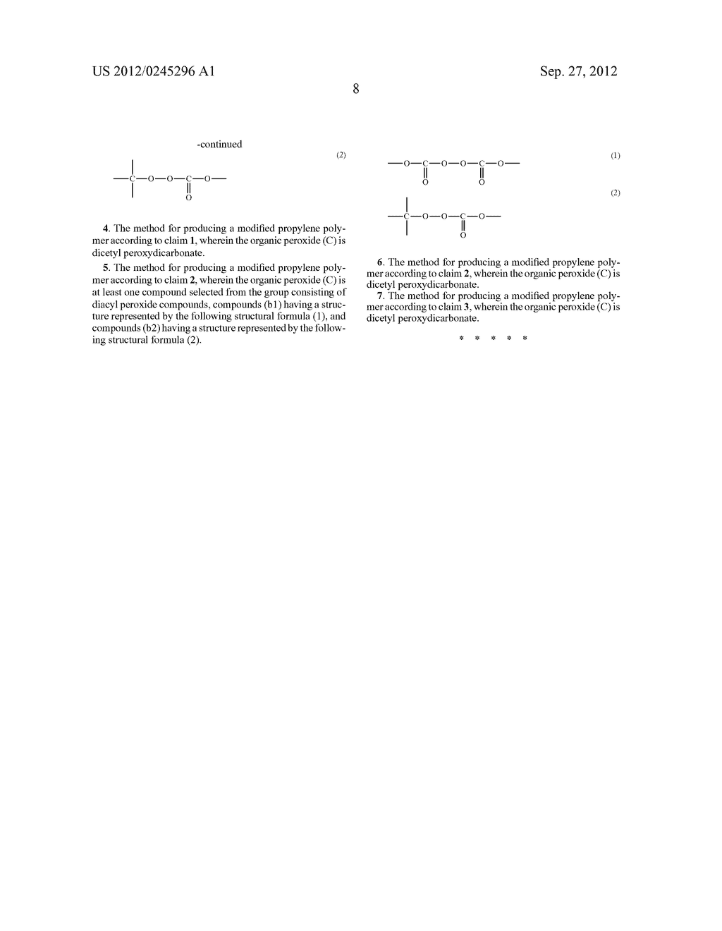 METHOD FOR PRODUCING MODIFIED PROPYLENE POLYMER - diagram, schematic, and image 09