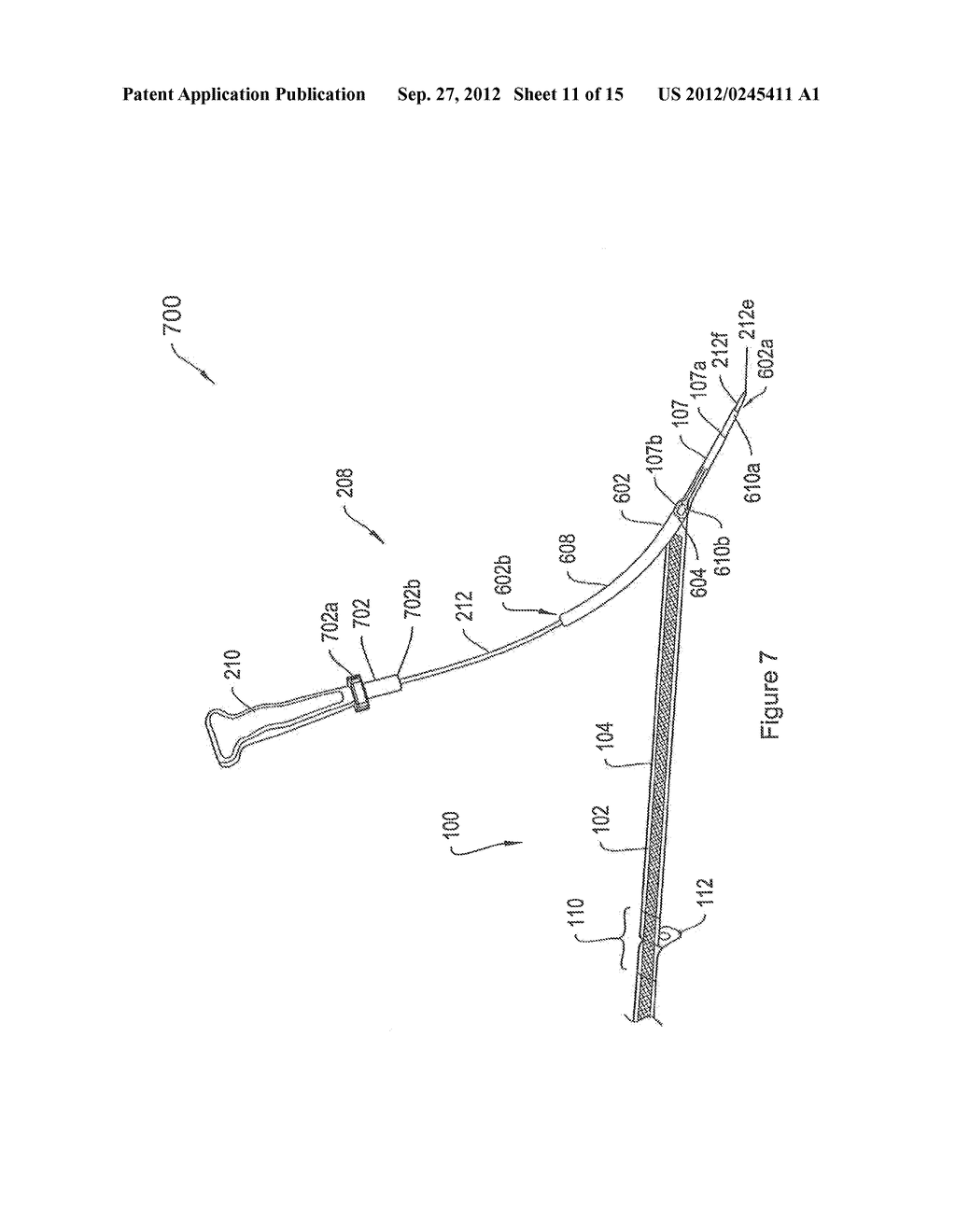 SYSTEMS AND METHODS EMPLOYING A PUSH TUBE FOR DELIVERING A URETHRAL SLING - diagram, schematic, and image 12