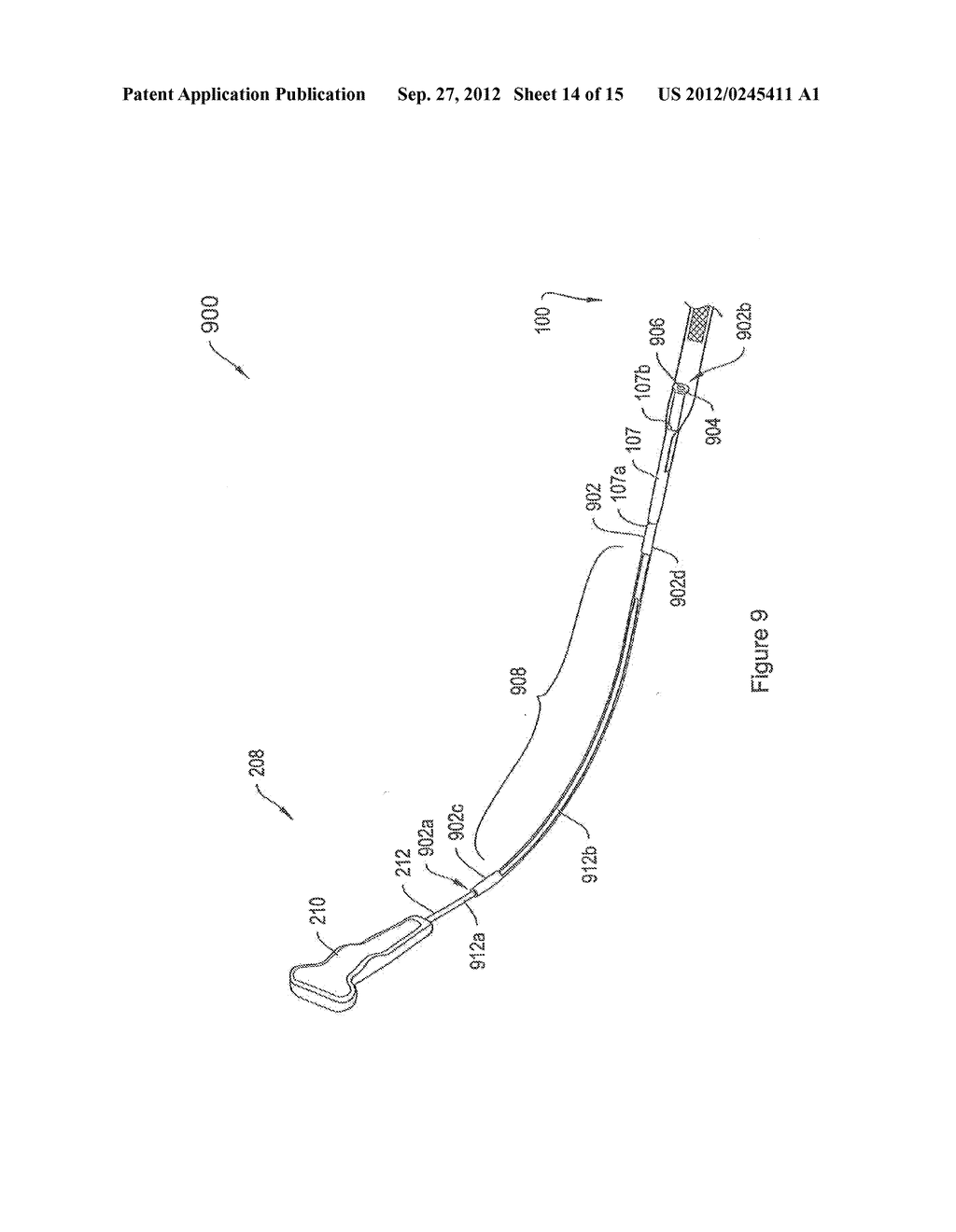 SYSTEMS AND METHODS EMPLOYING A PUSH TUBE FOR DELIVERING A URETHRAL SLING - diagram, schematic, and image 15